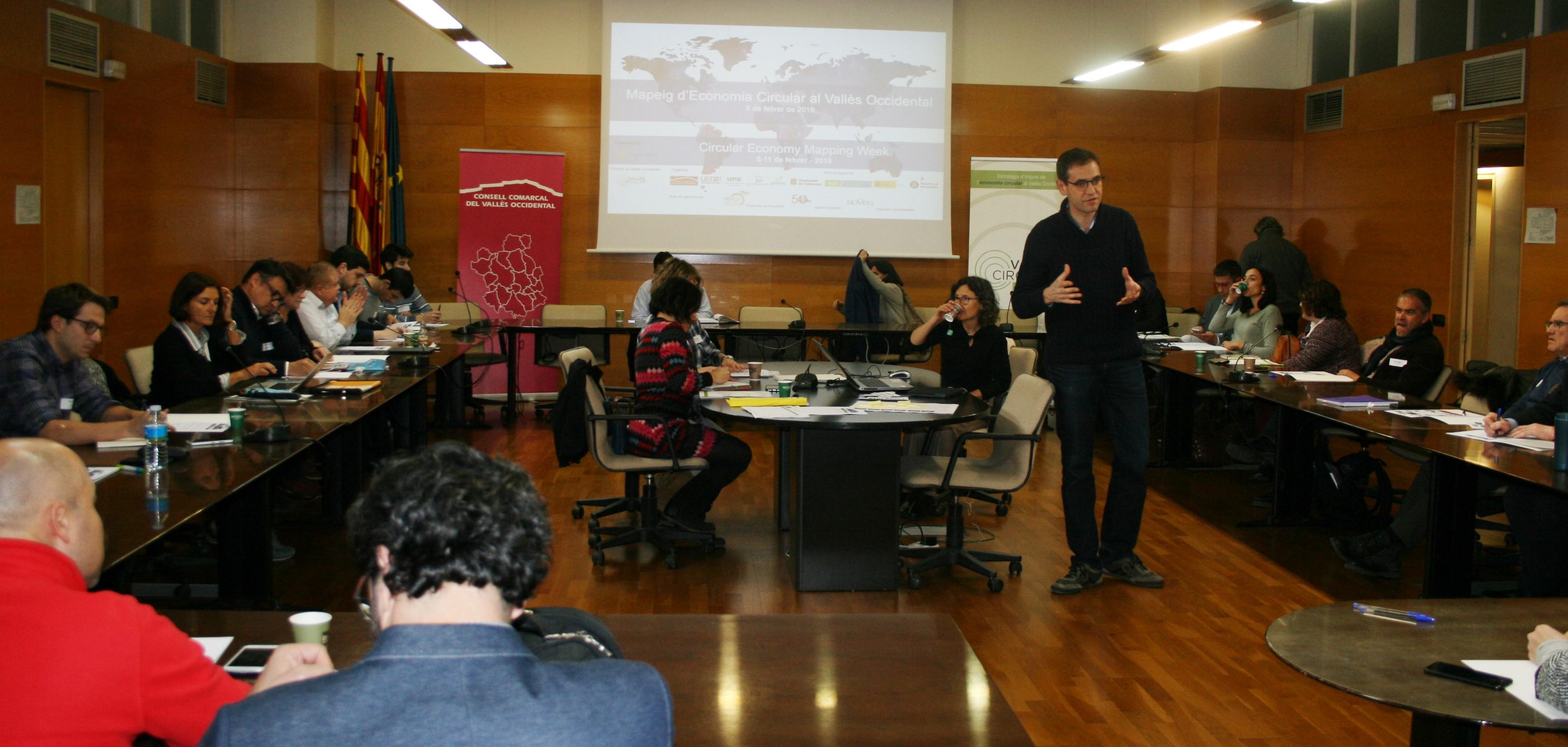 """Una cinquantena de persones participen en el """"Mapeig d'Economia Circular al Vallès Occidental"""" per compartir experiències d'economia circular"""
