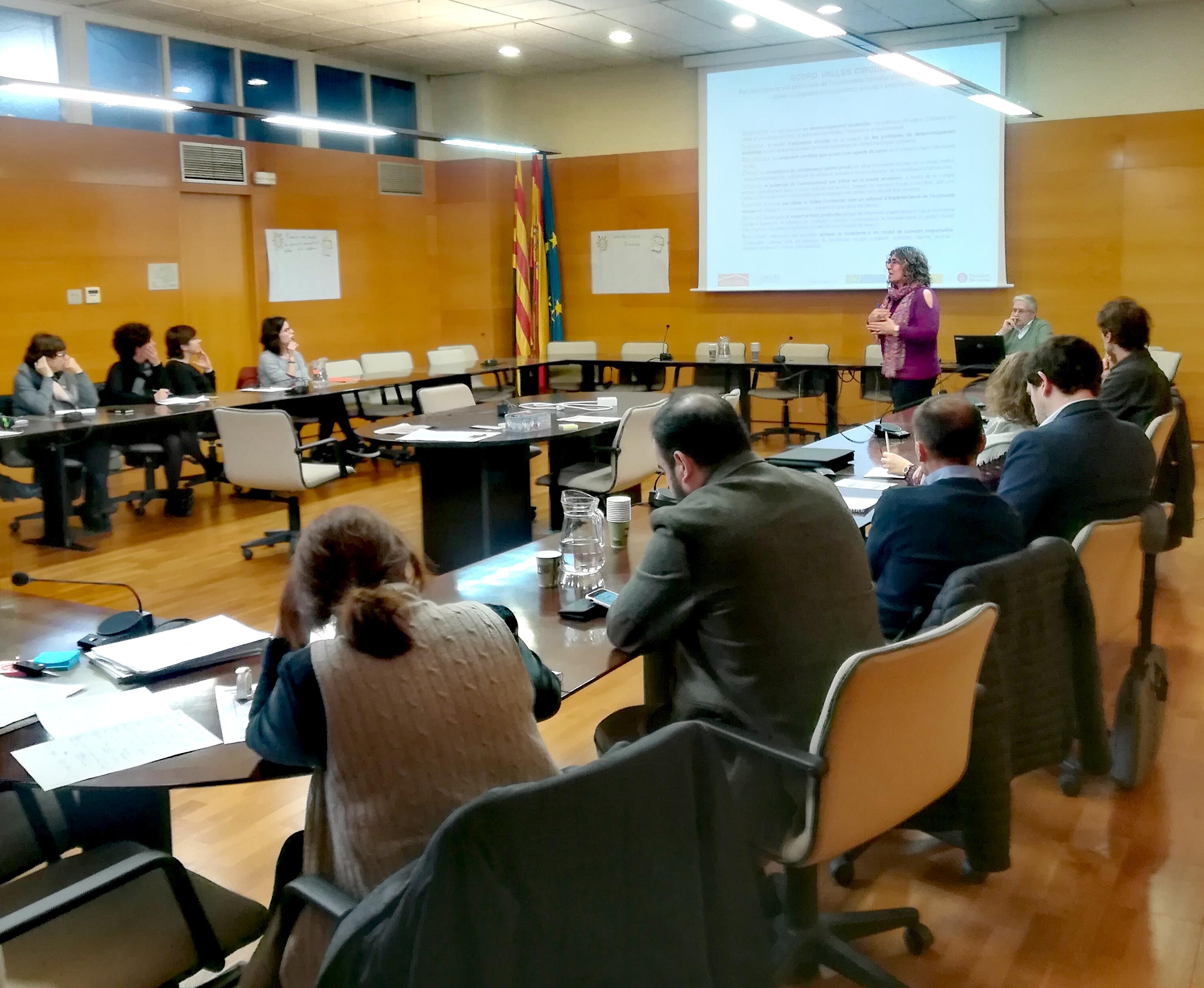 Pla de Treball 2018 del Vallès Circular