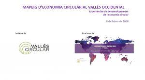mapeig economia circular del vallès occidental, Vallès Circular - Xarxa d'Entitats per a l'impuls de l'economia circular al Vallès Occidental,