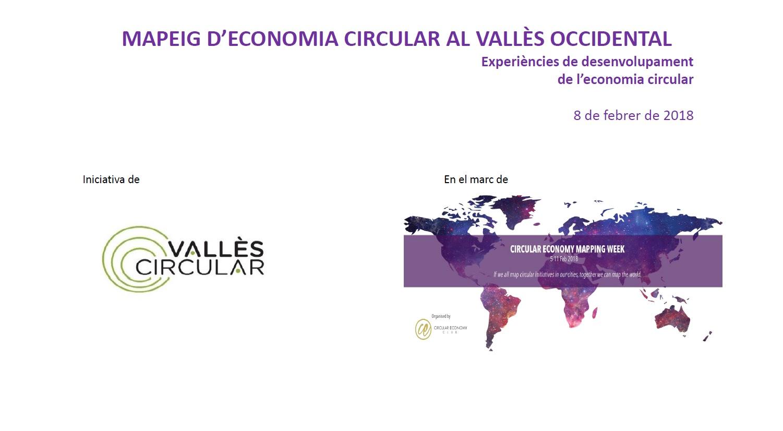 Informe Mapeig d'Economia Circular al Vallès Occidental
