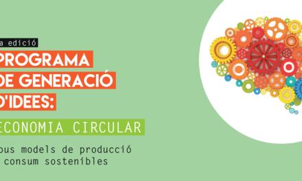 Concurs final del Programa de Generació d'Idees d'Economia Circular 2018