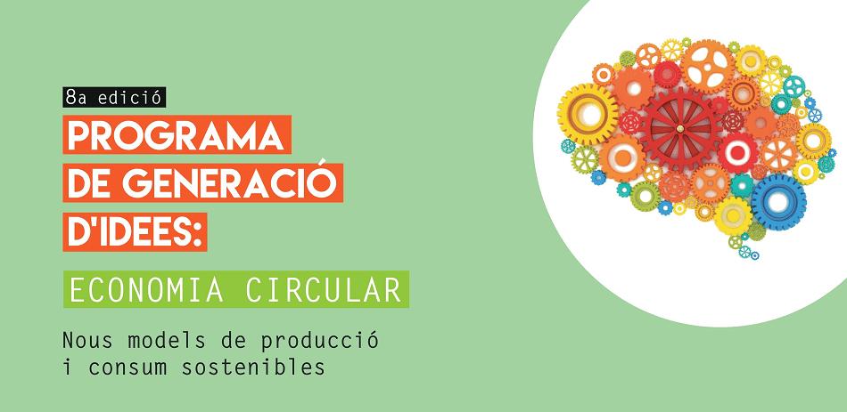 Vallès Circular col·labora amb el Programa de Generació d' Idees d'Economia Circular