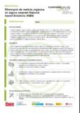 Eliminació de matèria orgànica en aigües emprant Natured based Solutions (NBS)