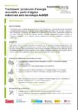 Tractament i producció d'energia renovable a partir d'aigües industrials amb tecnologia AnMBR