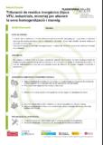 Trituració de residus inorgànics (tipus VFU, industrials, mineria) per afavorir la seva homogenització i maneig