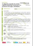 Co-digestió anaeròbia de residus orgànics industrials i purins per a la producció de biogàs i fertilitzants
