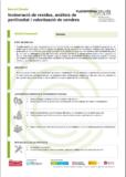 Incineració de residus, anàlisis de perillositat i valorització de cendres