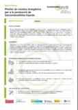 Piròlisi de residus inorgànics per a la producció de biocombustibles líquids