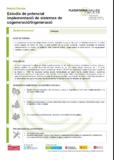 Estudis de potencial implementació de sistemes de cogeneració/trigeneració