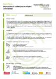 Implantació Sistemes de Gestió Ambiental