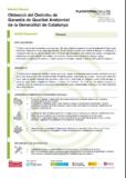 Obtenció del Distintiu de Garantia de Qualitat Ambiental de la Generalitat de Catalunya
