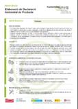 Elaboració de Declaració Ambiental de Producte