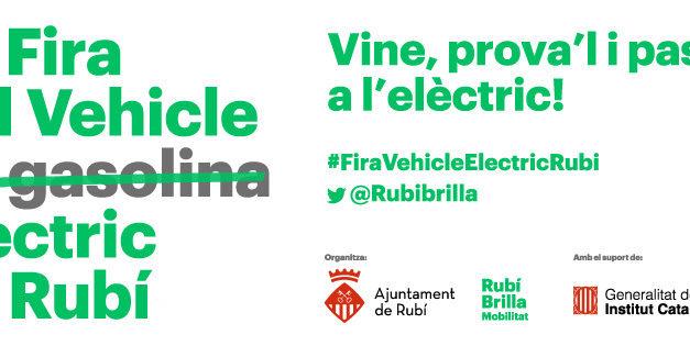 3a FIRA DEL VEHICLE ELÈCTRIC DE RUBÍ