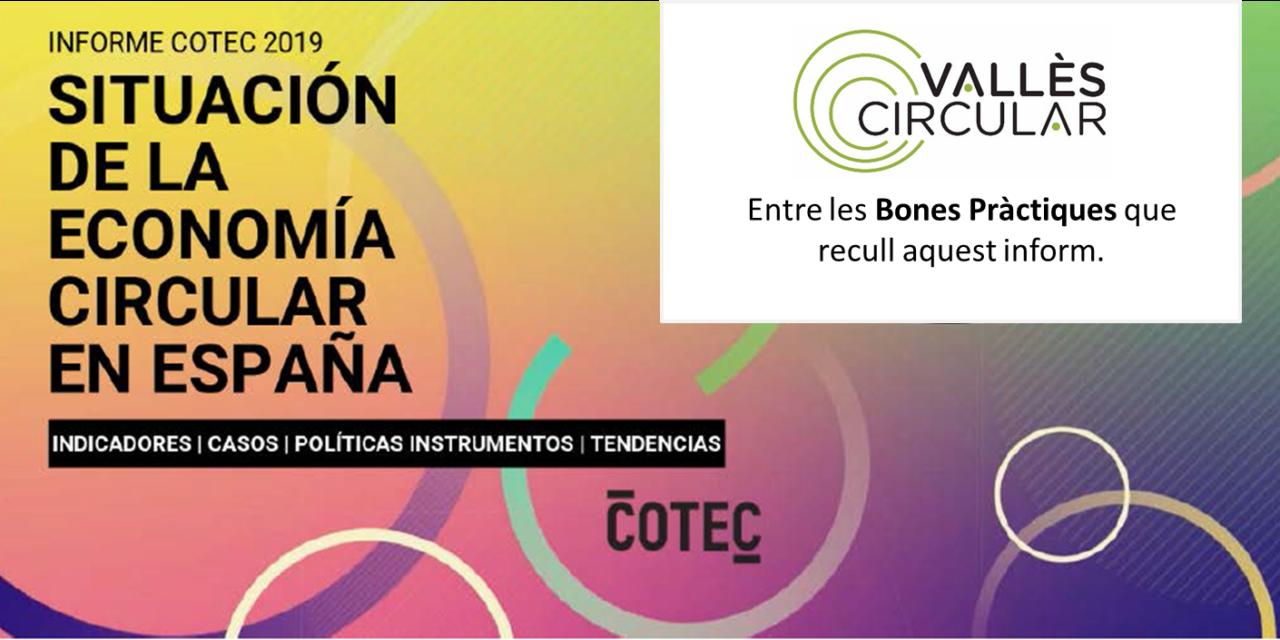 El Vallès Circular es presenta com una bona pràctica en l'informe elaborat per COTEC