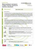 Electrowetland: tractament d'aigua residual i generació elèctrica simultània