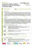 Tractament d'aigües residuals mitjançant cel·les de combustible microbianes (MFC)