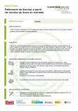 Fabricació de biochar a partir de residus de fusta no tractada
