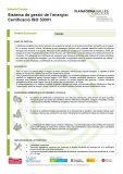 Sistema de gestió de l'energia: Certificació ISO 50001