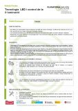 Tecnologia LED i control de la il·luminació