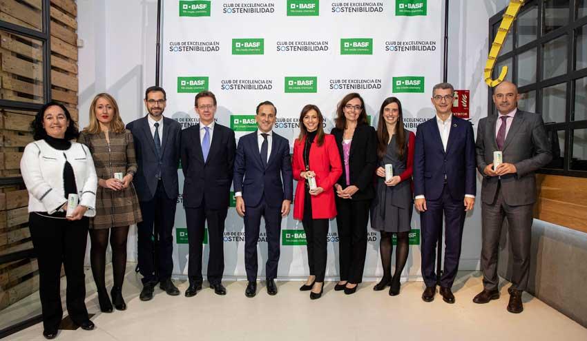 BASF reconoce las mejores prácticas de Economía Circular en España
